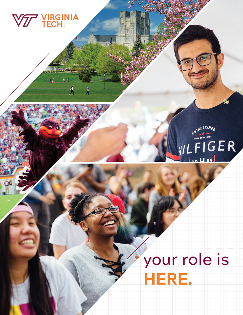 Cover of the VT International Student Brochure