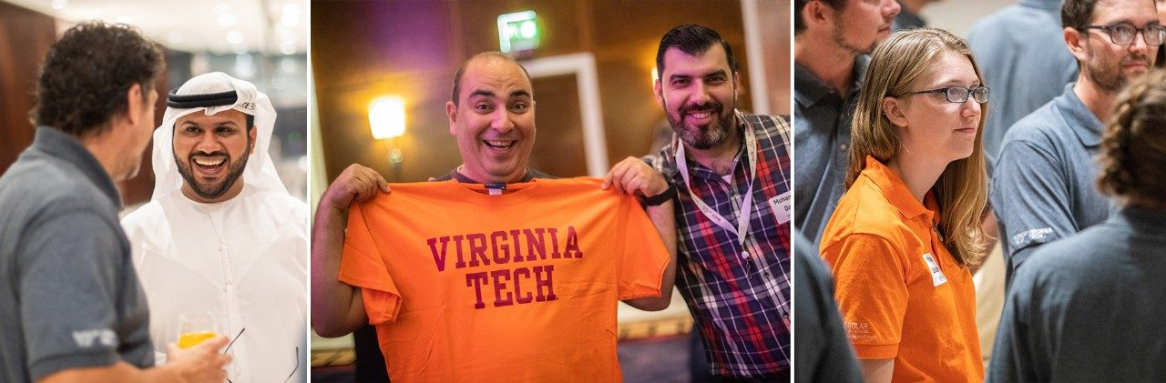 Dubai event proves strength of Hokie connections