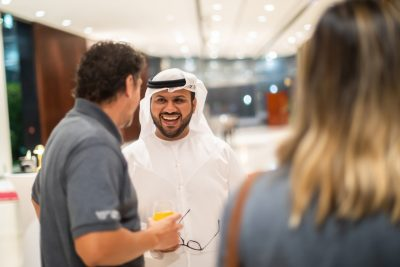 Alumni networking event in Dubai proves strength of Hokie connections